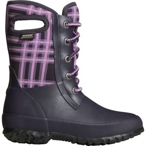 Bogs Amanda Winter Plaid Boot - Girls'
