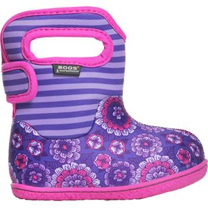 Bogs Baby Bogs Pansy Stripe Boot - Toddler Girls'