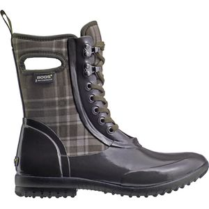 Bogs Sidney Plaid Lace-Up Boot - Women's