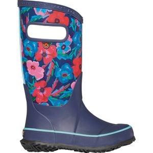 Pansies Print Rainboot - Girls'