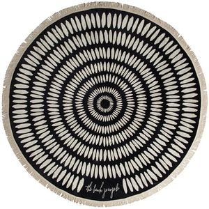 The Beach People Tulum Round Towel