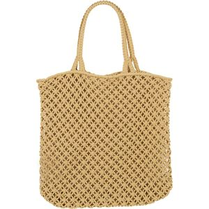The Beach People Macrame Cotton Cord Tote - Women's