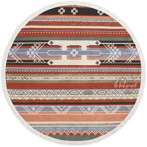 The Beach People Bedouin Round Towel
