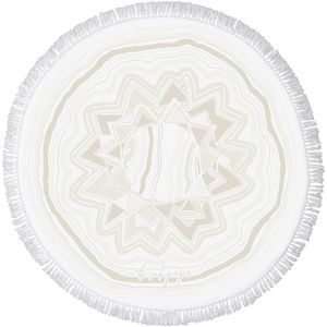 The Beach People Mirage Round Towel