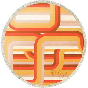 The Beach People La Plage Round Towel