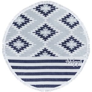 The Beach People Montauk Round Towel
