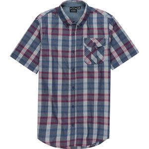 Burnside Woven Plaid Short-Sleeve Shirt - Men's