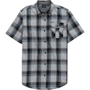 Burnside Plaid Short-Sleeve Woven Shirt - Men's