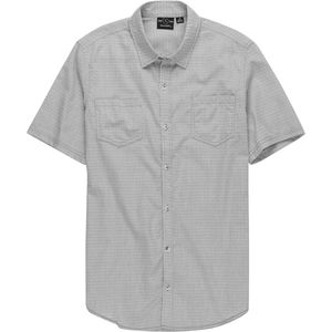 Burnside Textured Short-Sleeve Shirt - Men's