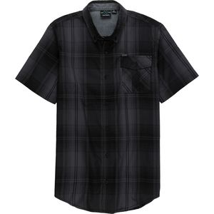 Burnside Plaid Button-Down Short-Sleeve Shirt - Men's