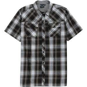 Burnside Plaid Short-Sleeve Shirt - Men's
