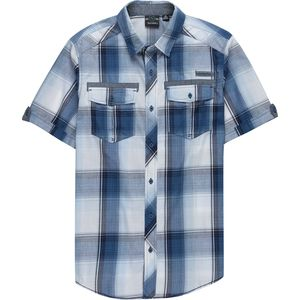 Burnside Short-Sleeve Plaid Shirt - Men's