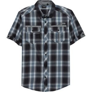 Burnside Short-Sleeve Woven Plaid Shirt - Men's