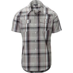 Burnside Short-Sleeve Plaid Woven Shirt - Men's