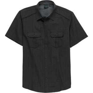 Burnside Textured Novelty Short-Sleeve Shirt - Men's