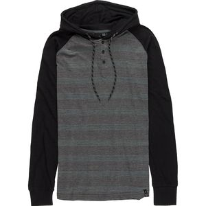 Burnside Fade with Contrasting Sleeve Hoodie - Men's