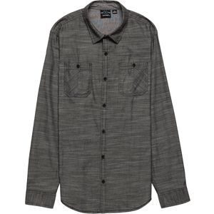 Burnside Long Sleeve Button Down with Pocket - Men's