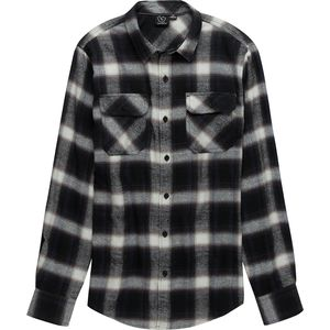 Burnside Cash Long Sleeve Flannel Button Down - Men's