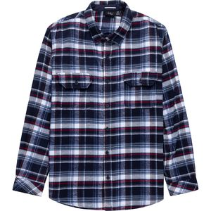 Burnside Dusty Plaid Flannel Shirt - Men's