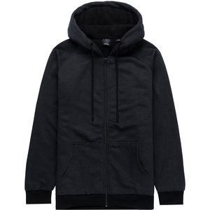 Burnside Kangaroo Pocket Full-Zip Hoodie - Men's