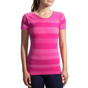 Brooks Streaker Performace Short-Sleeve Shirt - Women's