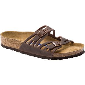 Birkenstock Granada Soft Footbed Leather Narrow Sandal - Women's