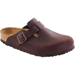 Birkenstock Boston Soft Footbed Leather Narrow Sandal - Women's