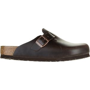 Birkenstock Boston Soft Footbed Leather Clog - Men's