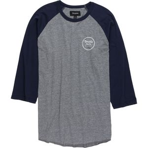 Brixton Wheeler T-Shirt - 3/4-Sleeve - Men's