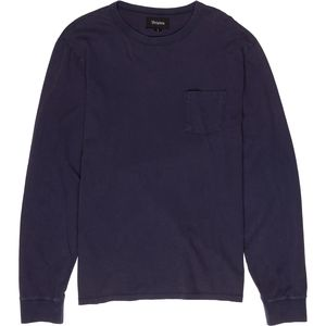 Brixton Chaplin Long-SLeeve Pocket Knit T-Shirt - Men's