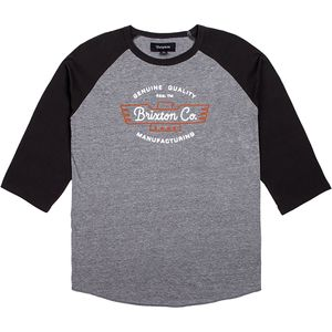 Brixton Concord 3/4-Sleeve T-Shirt - Men's