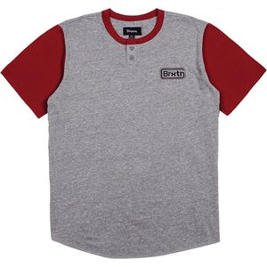 Brixton Springfield Short-Sleeve Henley Shirt - Men's
