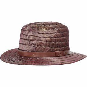 Brixton Messer Straw Fedora - Women's