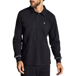 Brixton Carlos Knit Long-Sleeve Polo Shirt - Men's