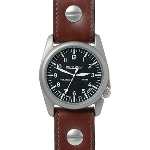 Bertucci Watches A-4T Aero Leather Watch - Men's