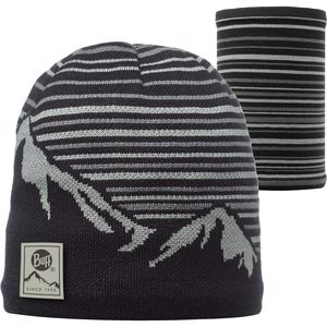 Buff Knitted Polar Hat - Patterned