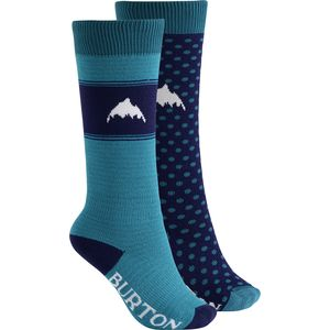 Burton Weekend Sock - Girls' - 2-Pack