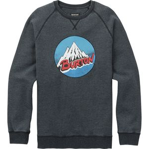 Burton Classic Retro Mountain Crew Sweatshirt - Men's