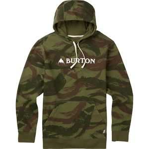 Burton Mountain Logo Horizontal Pullover Hoodie - Men's