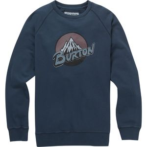 Burton Retro Mountain Organic Crew Sweatshirt - Men's