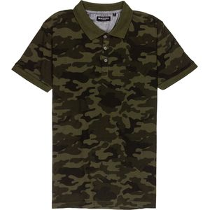 Brave Soul Camo Polo Shirt - Men's