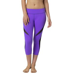 Beyond Yoga Double Panel Mesh Capri Leggings - Women's