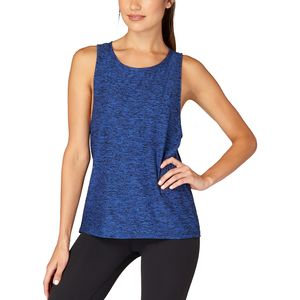 Beyond Yoga Featherweight Spacedye Twisted Open Back Tank Top - Women's