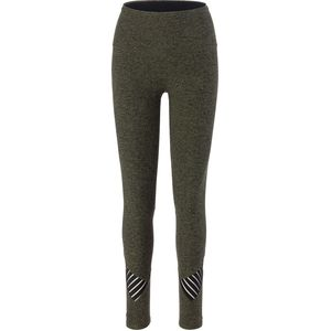 Beyond Yoga Spacedye Stacked And Sliced High Waisted Midi Legging - Women's
