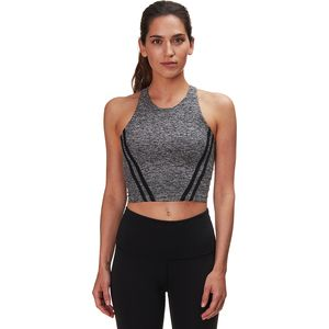 Beyond Yoga Stripe Down Cropped Tank Bra - Women's