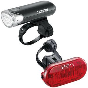 CatEye HL-EL135N and TL-LD135-R Omni 3 Rear Light Combo