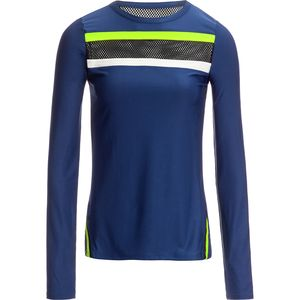 C&C California Mesh Striped Pullover - Women's