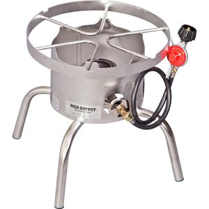 Camp Chef Stainless Steel High Output Single Burner Cooker