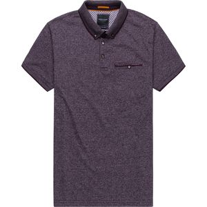 Cactus Man Heathered Polo Shirt with Pocket - Men's