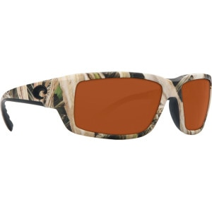 Costa Fantail Mossy Oak Camo Polarized Sunglasses - Costa 580 Polycarbonate Lens